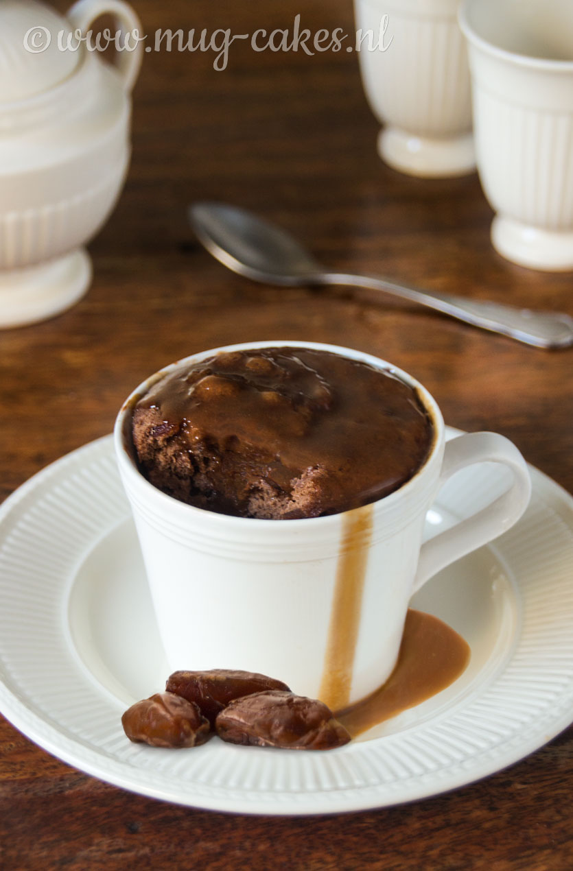 Sticky Toffee Pudding Mug Cake