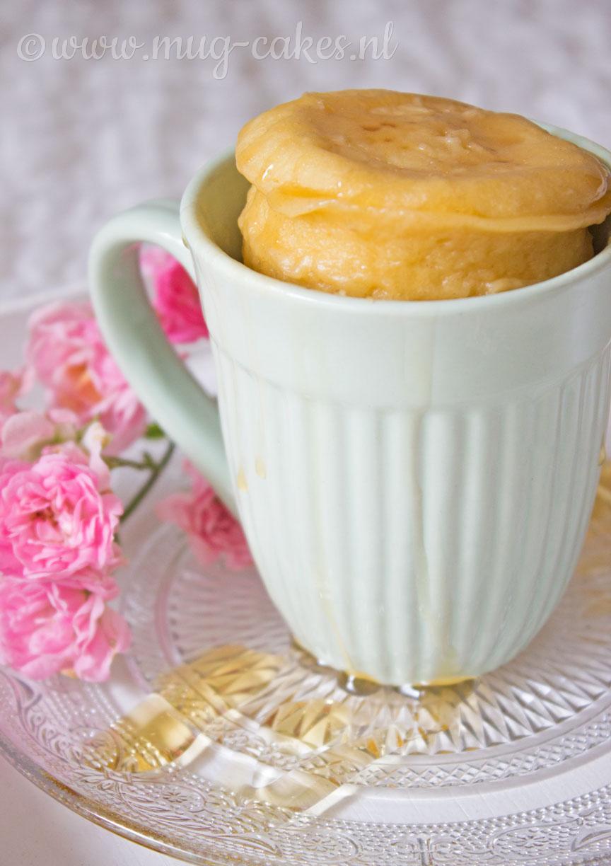 Yoghurt Mug Cake met Honing