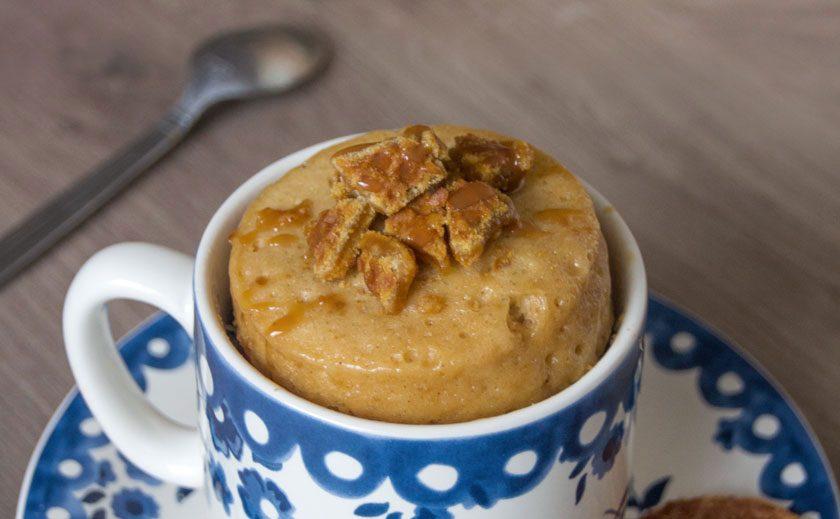 Stroopwafel Mug Cake