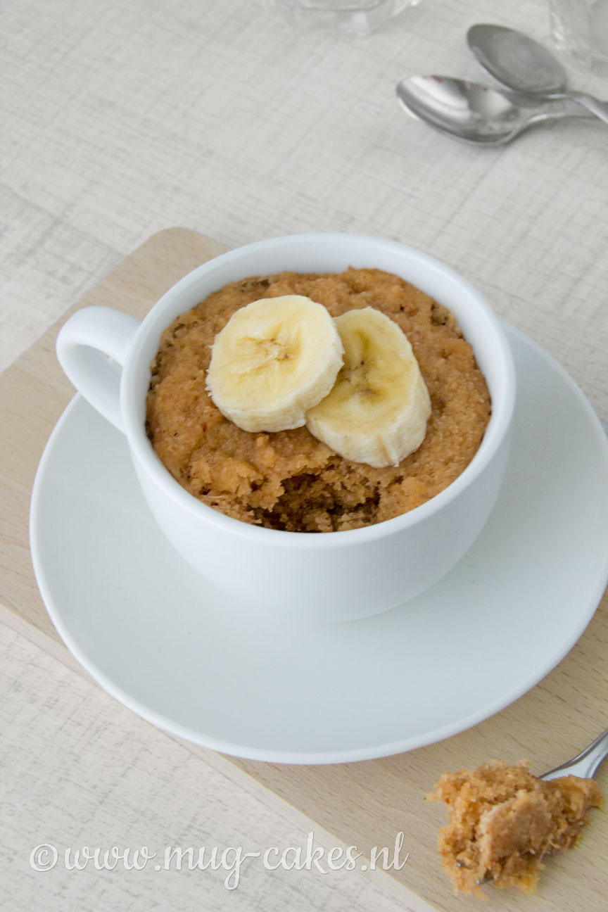 Vegan mug cake zonder ei (glutenvrij)