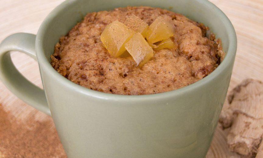 Gember Mug Cake Zonder Ei