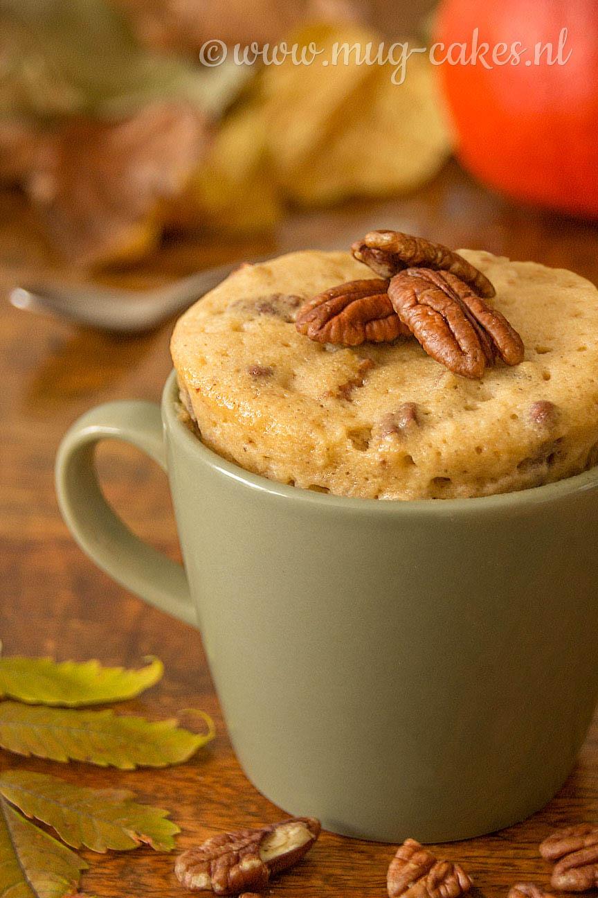 Pecan Pie Mug Cake