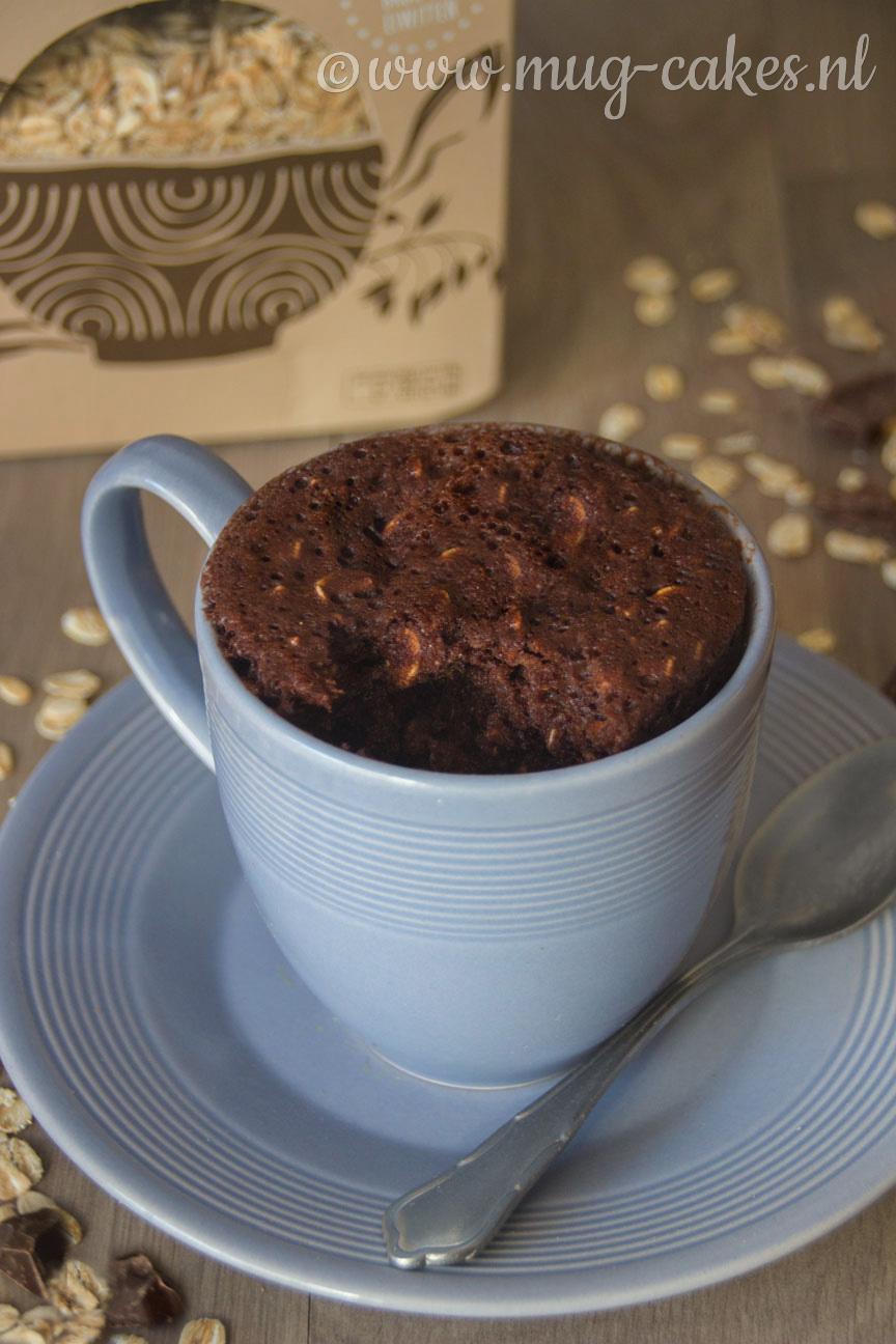 Chocolade Havermout Mug Cake