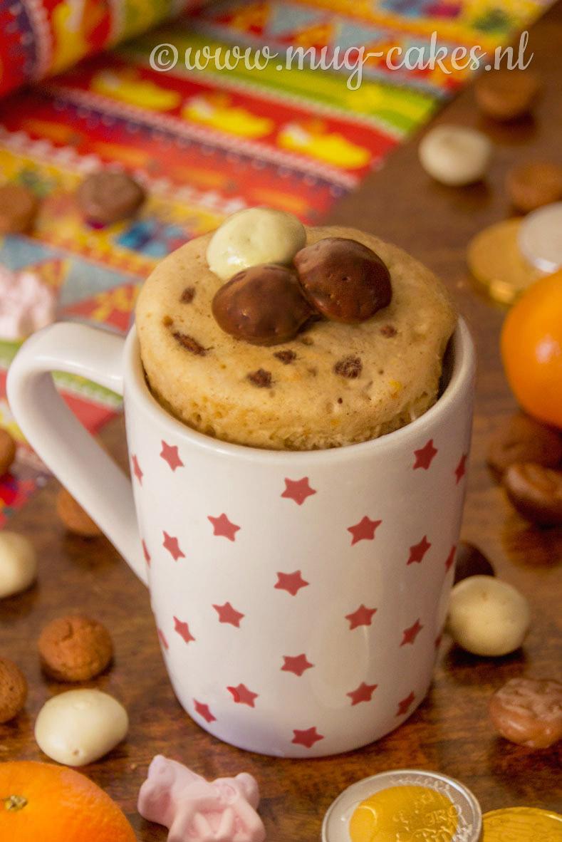 Sinterklaas Mug Cake